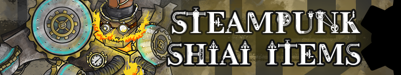 Steampunk Shiai Items!