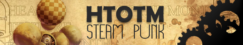 Head Texture of the Month: Steam Punk