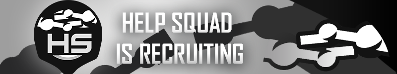 Help Squad Recruitment Drive