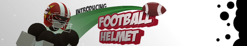 Football Helmet now in the shop